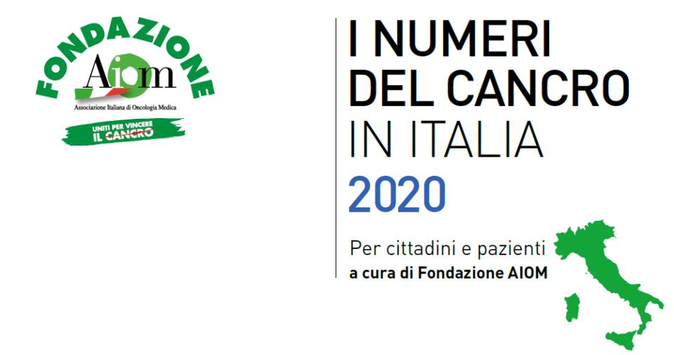 AIOM, Fondazione, Numeri del cancro 2020, Fondazione Bartolo Longo,